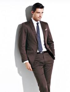 Men's Dk. Brown Spring Suit