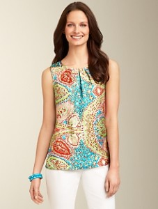 Summery Pattered Top