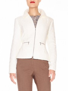 Ivory Jacket, Neutral Slacks