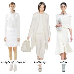 Designer white textures