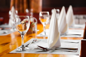 Business Etiquette Dining Table