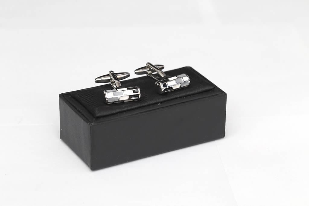Silver Gray Cufflinks