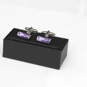 Purple Cufflinks