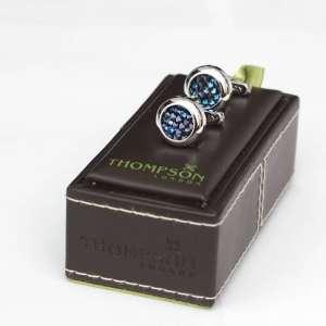 Jeweled Blue Cufflinks