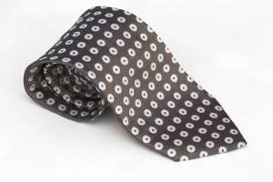 Taupe Dotted Tie