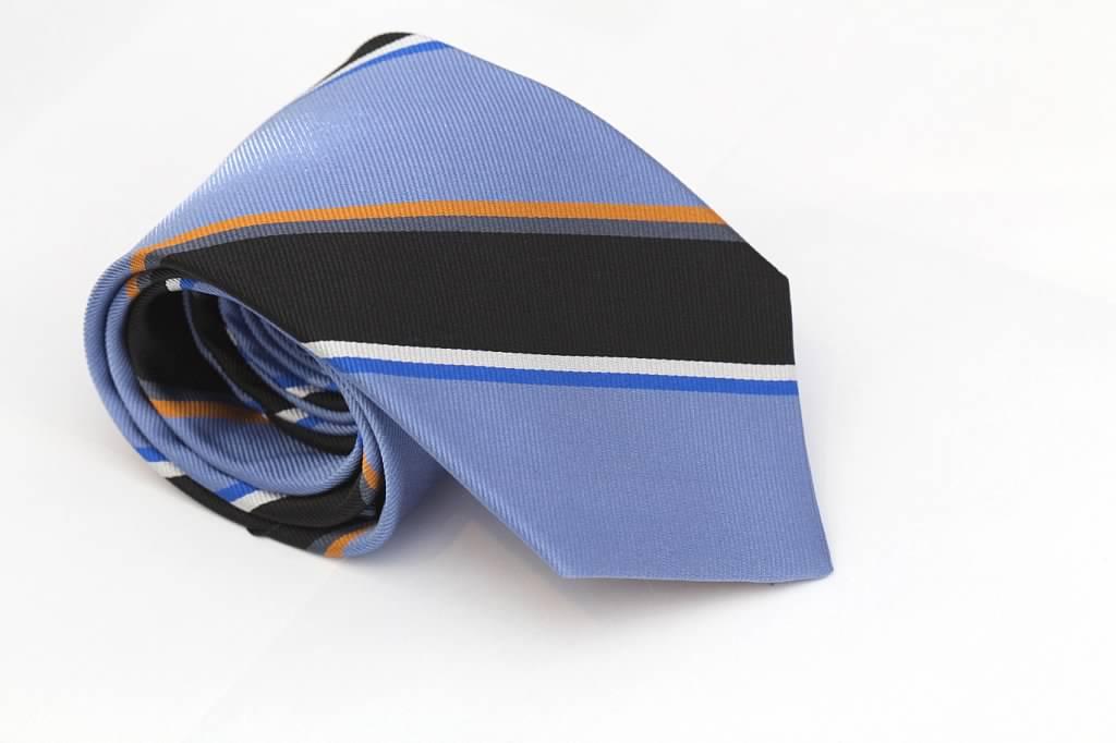 Blue Striped Tie