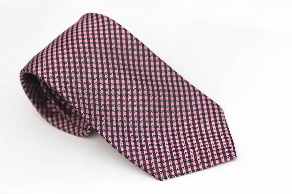 Pink with Magenta Tie